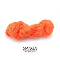 Ganga Motu Thick Chunky Yarn - Orange 08