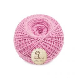 Kotton 4 ply Cotton Yarn Ball - Baby Pink 19