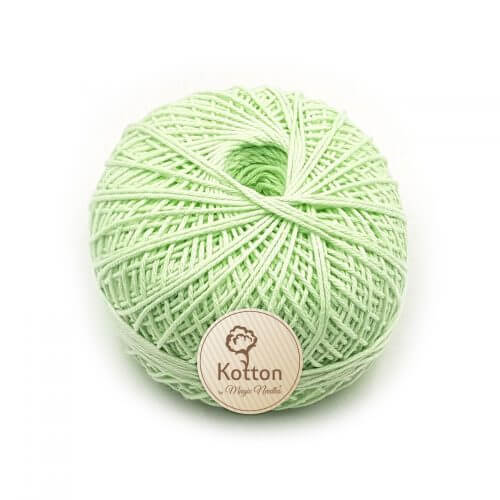 Kotton 4 ply Cotton Yarn Ball - Lime Green 22