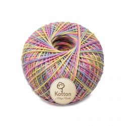Kotton 4 ply Cotton Yarn Ball - Multi Color 06