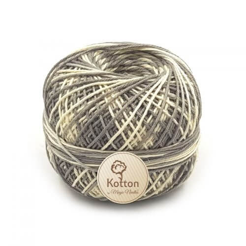 Kotton 4 ply Cotton Yarn - Multi Color 14