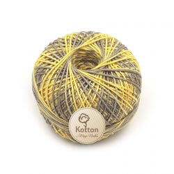 Kotton 4 ply Cotton Yarn Ball - Multi Color 18