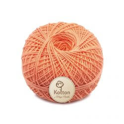 Kotton 4 ply Cotton Yarn Ball - Peach 24