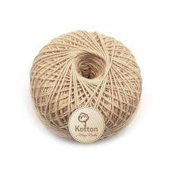 Kotton 4 ply Cotton Yarn Ball - Khaki 07