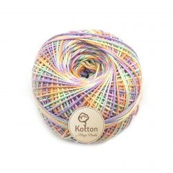 Kotton 4 ply Cotton Yarn Ball - Multi Color 19
