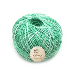 Kotton 4 ply Cotton Yarn Ball - Multi Color 20