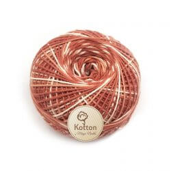 Kotton 4 ply Cotton Yarn Ball - Multi Color 21