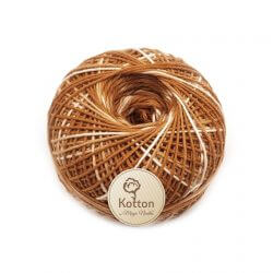 Kotton 4 ply Cotton Yarn Ball - Multi Color 22