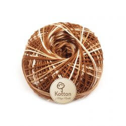 Kotton 4 ply Cotton Yarn Ball - Multi Color 23