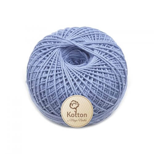 Kotton 4 ply Cotton Yarn Ball - Light Sky Blue 29