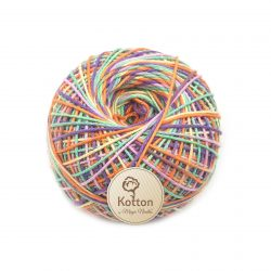 Kotton 4 ply Cotton Yarn Ball - Multi Color 19D