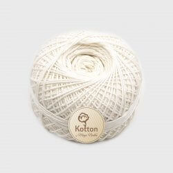 Kotton 4 ply Cotton Yarn Ball - Off White 37