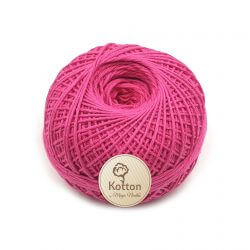 Kotton 4 ply Cotton Yarn Ball - Pink 34