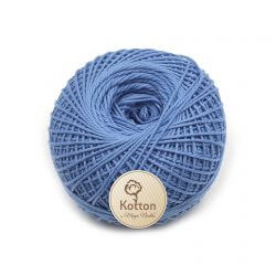 Kotton 4 ply Cotton Yarn Ball - Sky Blue 28