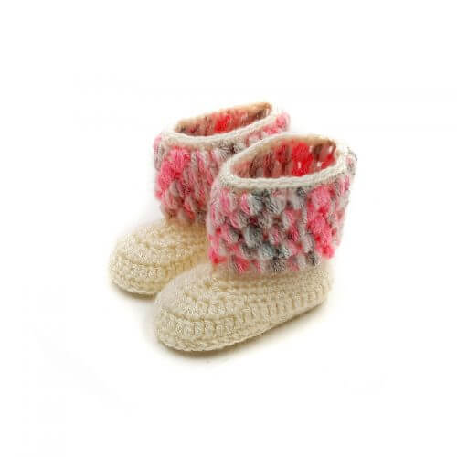 Baby Booties - Multi Color 2561