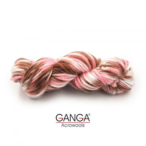 Ganga Motu Thick Chunky Yarn - Multi Color 520005