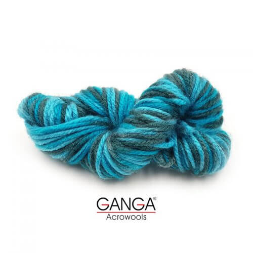 Ganga Motu Thick Chunky Yarn - Multi Color 535009