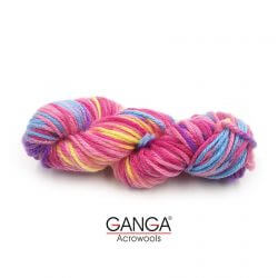 Ganga Motu Thick Chunky Yarn - Multi Color 578310