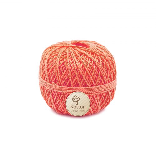 Kotton 3 ply Mercerised Cotton Yarn Ball - Peach 05