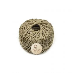 Kotton 3 ply Mercerised Cotton Yarn Ball - Fawn 19