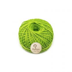 Kotton 3 ply Mercerised Cotton Yarn Ball - Green 18