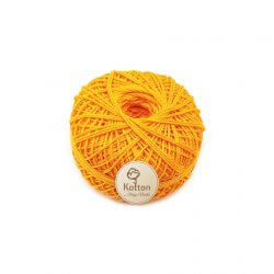 Kotton 3 ply Mercerised Cotton Yarn Ball - Marigold 10