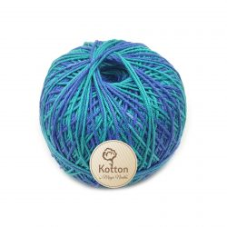 Kotton 4 ply Cotton Yarn Ball - Multi Color 28