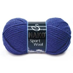 Nako Sport Wool Yarn - Royal Blue 10472