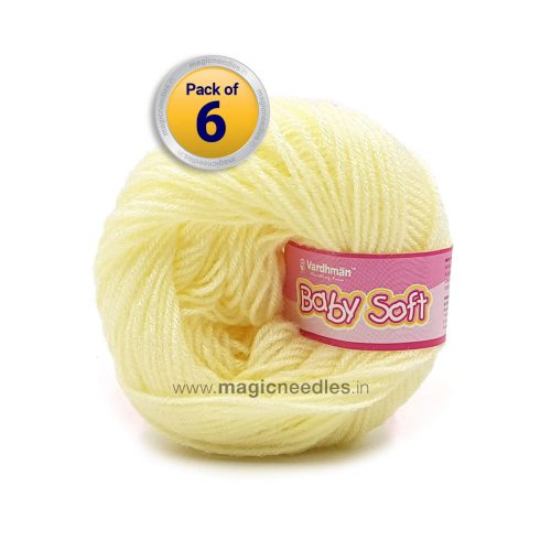 Vardhman Baby Soft - Light Yellow BBL005