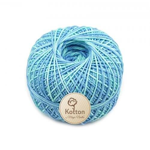 Kotton 4 ply Cotton Yarn Ball - Multi Color 29