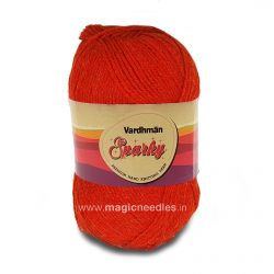 Vardhman Sparky Yarn - Orange SEH021