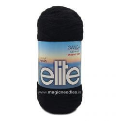 Ganga Elite Yarn - Black 490056