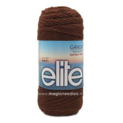 Ganga Elite Yarn 150 gm - Brown 220406