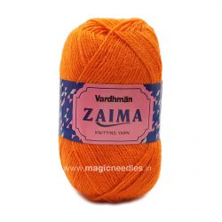 Vardhman Zaima Yarn - Orange ZMD025
