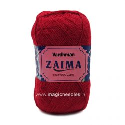 Vardhman Zaima Yarn - Red ZSH321
