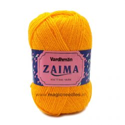 Vardhman Zaima Knitting Yarn - Yellow ZMM018