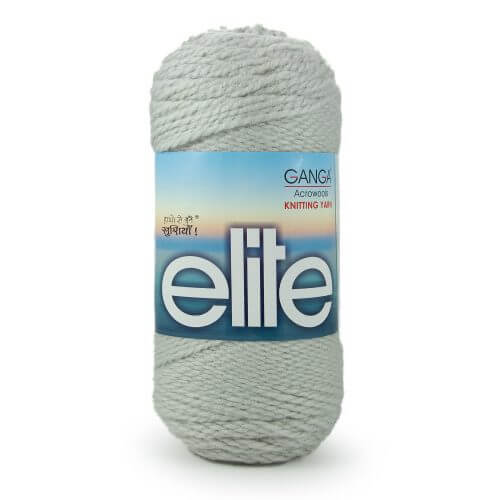 Ganga Elite Yarn Light Grey 152014