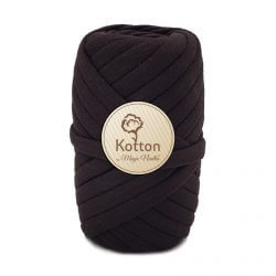 Kotton T Shirt Yarn - Chocolate-Brown-V27