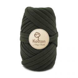 Kotton T Shirt Yarn - Dark-Olive-Green-V33