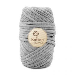 Kotton T Shirt Yarn - Grey-Melange-V35