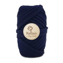 Kotton T Shirt Yarn - Navy-Blue-V29