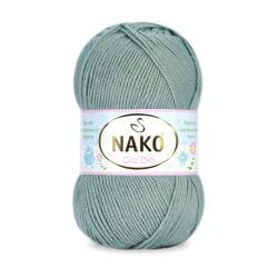 Nako Cici Bio Antibacterial Yarn - Royal Mint 10023