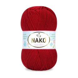 Nako Cici Bio Antibacterial Yarn - Red 4675