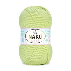 Nako Cici Bio Antibacterial Yarn - Light Green 6811