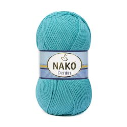 Nako Denim Yarn - Cyan Blue 11579