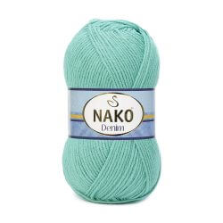 Nako Denim Yarn - Green 11580