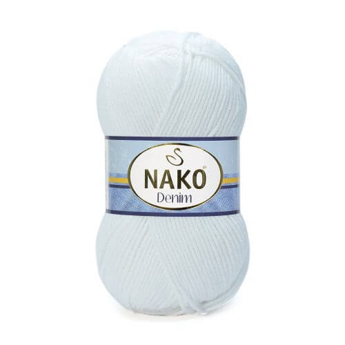 Nako Denim Yarn - White 208