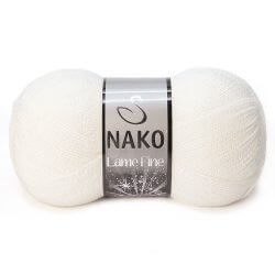 Nako Lame Fine Yarn - Light Beige 300