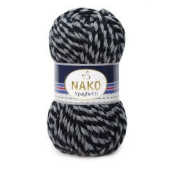 Nako Spaghetti Thick Chunky Yarn - Multi Color 21365