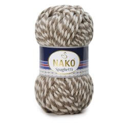 Nako Spaghetti Thick Chunky Yarn - Multi Color 21366